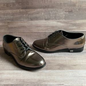 Aldo Leather Oxford Style Lace Up Shoes